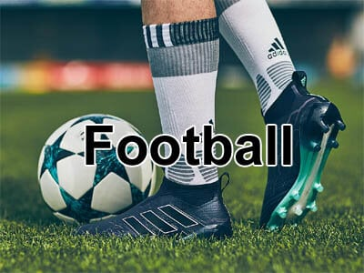 Football boots fot soccer, league, union and AFL