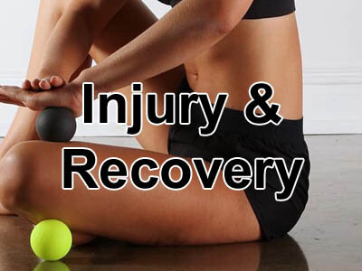 Equipment aids to assist with recovering from sports injury