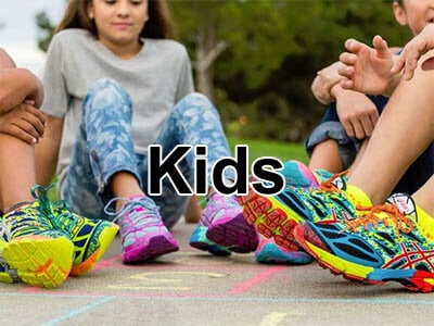kids Nike, Asics and Adidas joggers