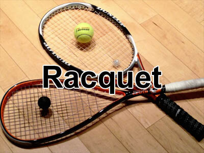 tennis, squash, badminton and other racquet equipment and tennis balls