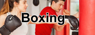 boxing gloves, punch bags, focus mitts for fitness