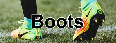 football boots and soccer cleats from Asics, Nike, Blades, Puma and Adidas