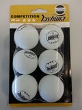 3 Star Table Tennis Balls- Pack of 6 -table-tennis-accessories-Sportspower Super Warehouse