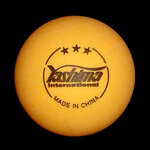 3 Star Table Tennis Balls- Pack of 6-table-tennis-accessories-Sportspower Super Warehouse