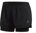 Adidas 2-in-1 Training Short Women-shorts-Sportspower Super Warehouse