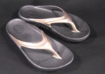 OOFOS OOlala Thongs (Womens)-slides-Sportspower Super Warehouse