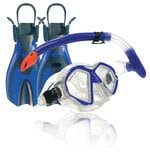 Land and Sea Porpoise Complete Snorkelling Set -snorkel-Sportspower Super Warehouse