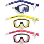 Land And Sea Lagoon Junior Silitex Snorkel Set-snorkel-Sportspower Super Warehouse