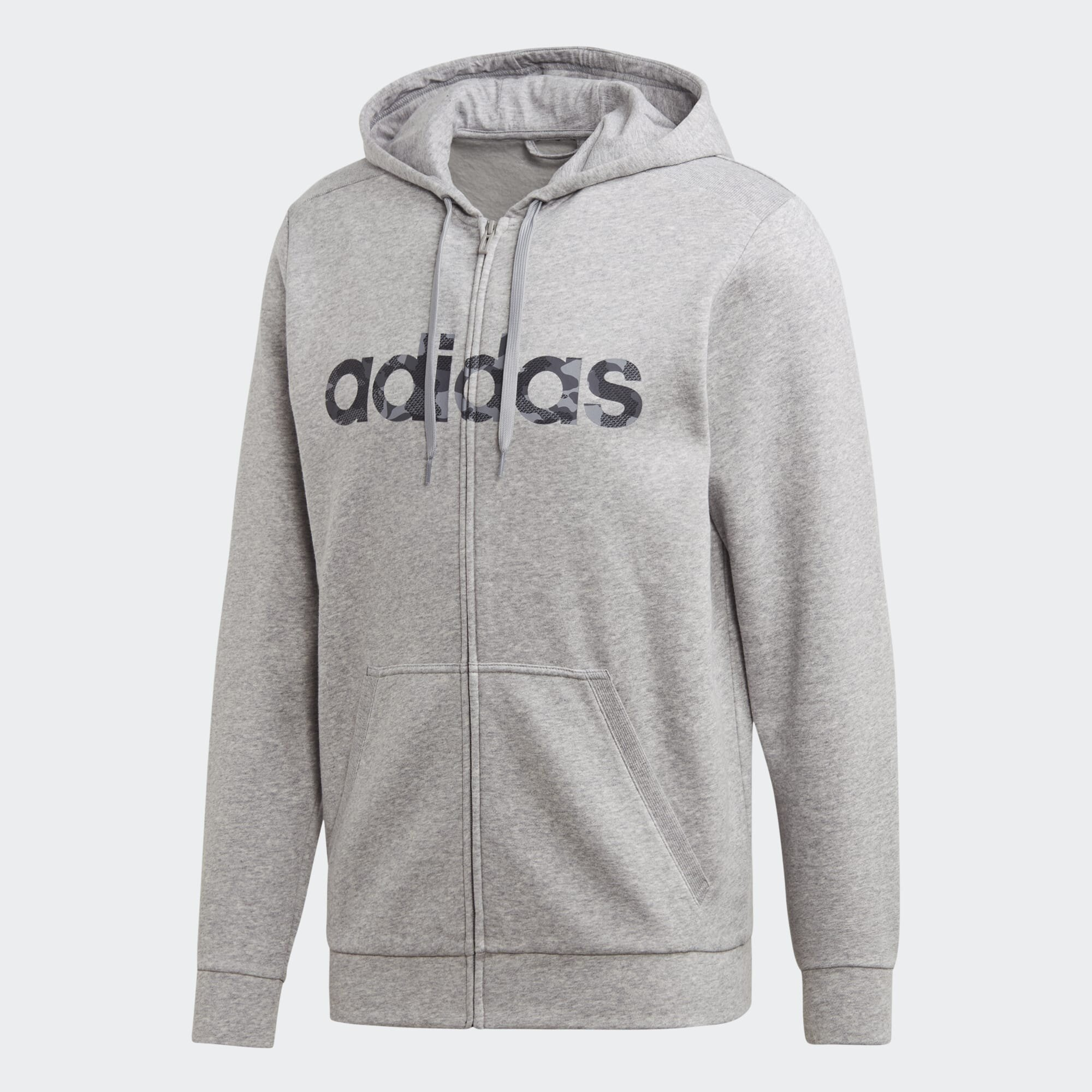 Hooded Jacket adidas Essentials Linear French Terry