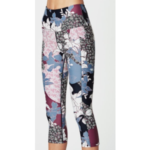 Running Bare Power Moes 3/4 Tight Womens
