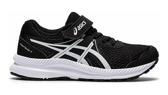 Asics Contend 7 Velcro Kids Running Shoes